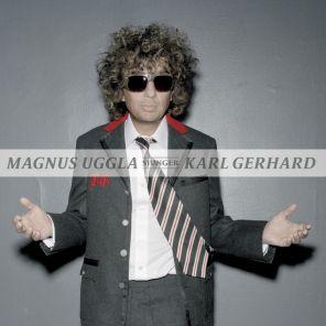 Skivomslag till Ett bedårande barn av sin tid - Magnus Uggla sjunger Karl Gerard