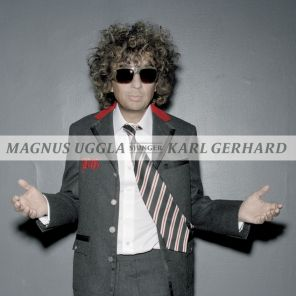 Ett bedårande barn av sin tid – Magnus Uggla sjunger Karl Gerard omslag