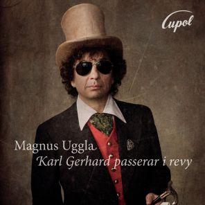 Skivomslag till Karl Gerhard passerar i revy
