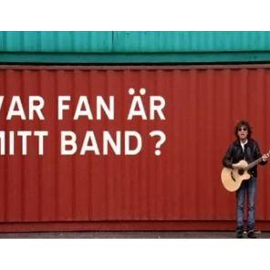 Skivomslag till Var fan är mitt band